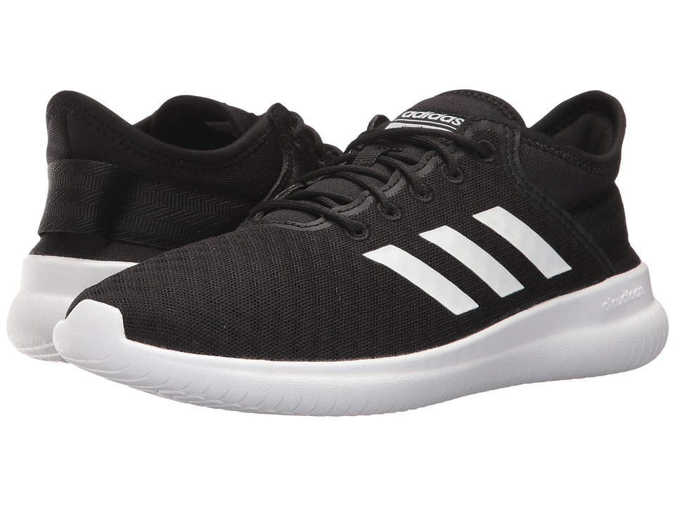 adidas - Cloudfoam QT Flex (Core Black/Footwear White/Core Black) Women's Running Shoes