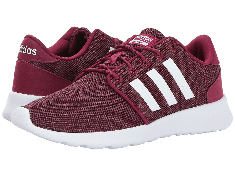 adidas - Cloudfoam QT Racer (Mystery Ruby/Footwear White/Core Black) Women's Running Shoes