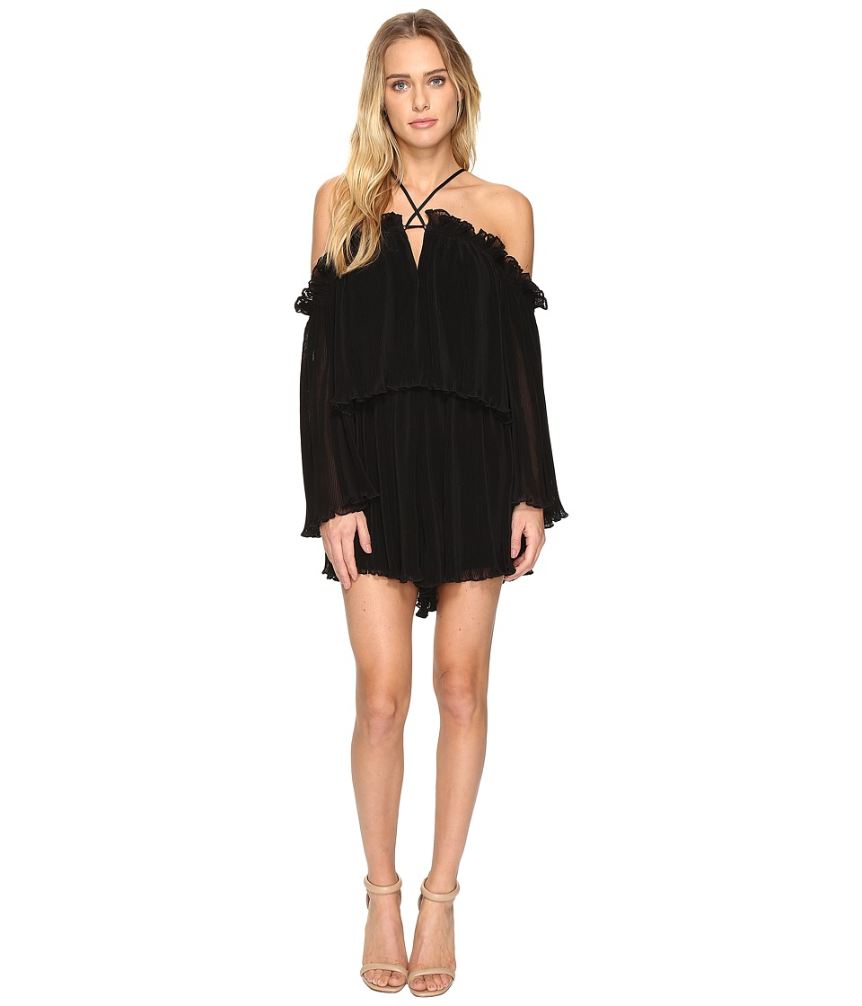 alice McCALL - Locomotion Playsuit (Black 2) Women's Jumpsuit & Rompers One Piece