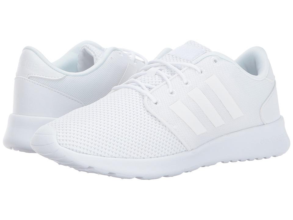 adidas Cloudfoam QT Racer (Footwear White/Footwear White/Grey One) Women