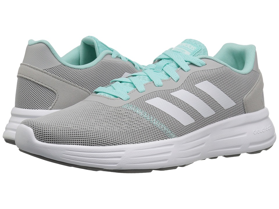 adidas - Cloudfoam Revolver (Grey Two/Footwear White/Energy Aqua) Women's Running Shoes