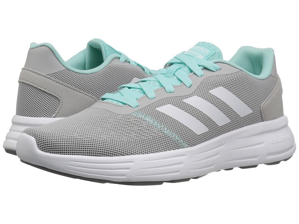 adidas - Cloudfoam Revolver (Grey Two/Footwear White/Energy Aqua) Women's Running Shoes