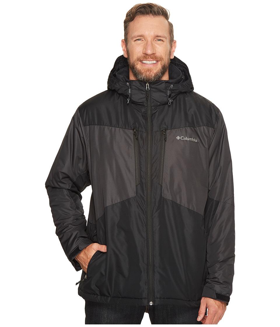 Columbia - Big Tall Antimony Jacket (Black/Shark/Light Cloud) Men's Coat