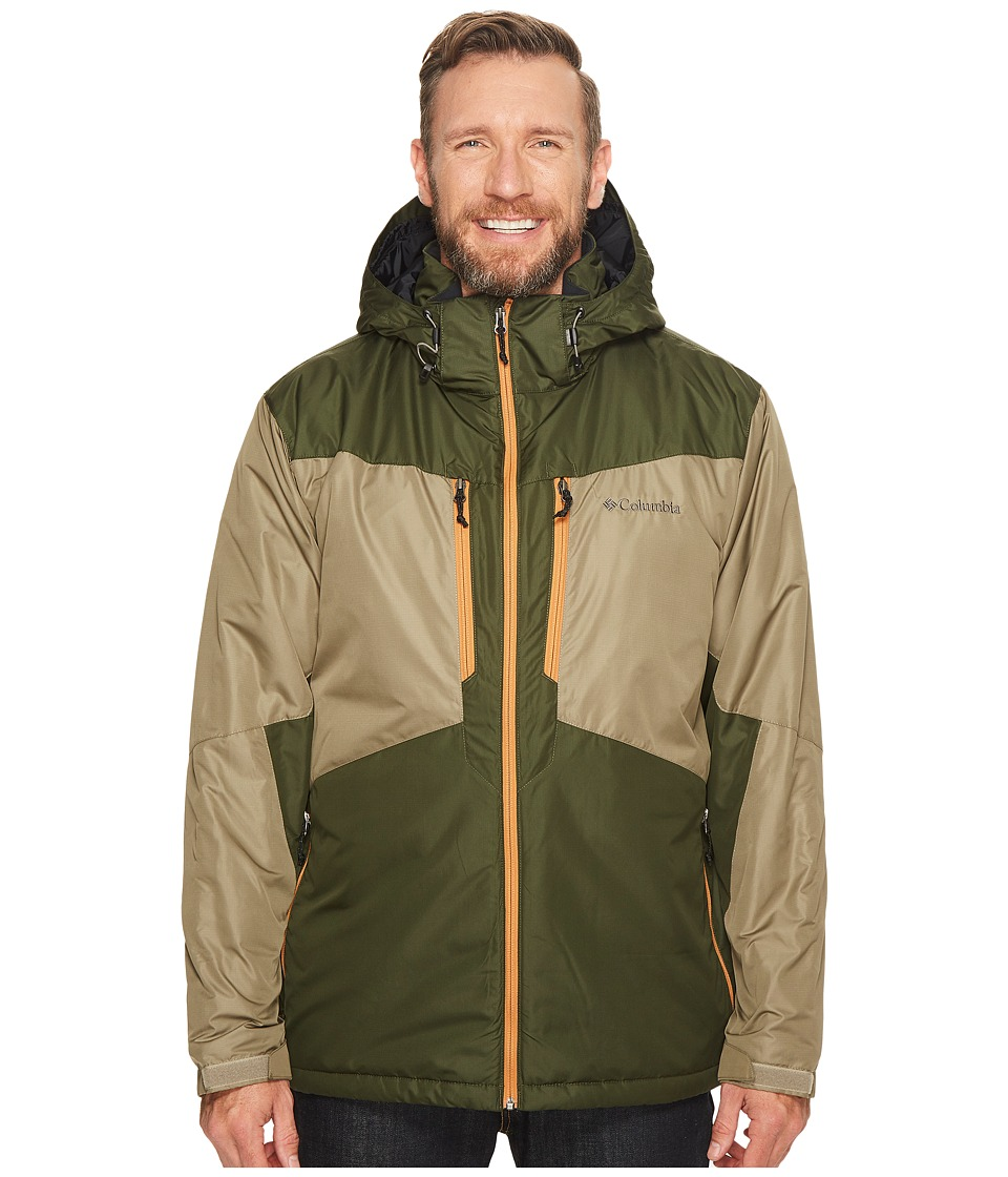 Columbia - Big Tall Antimony Jacket (Sage/Surplus Green/Canyon Gold) Men's Coat