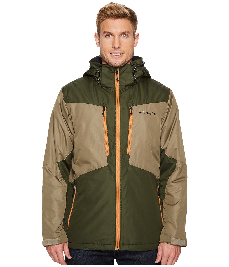 Columbia - Antimonytm Jacket (Sage/Surplus Green/Canyon Gold) Men's Coat