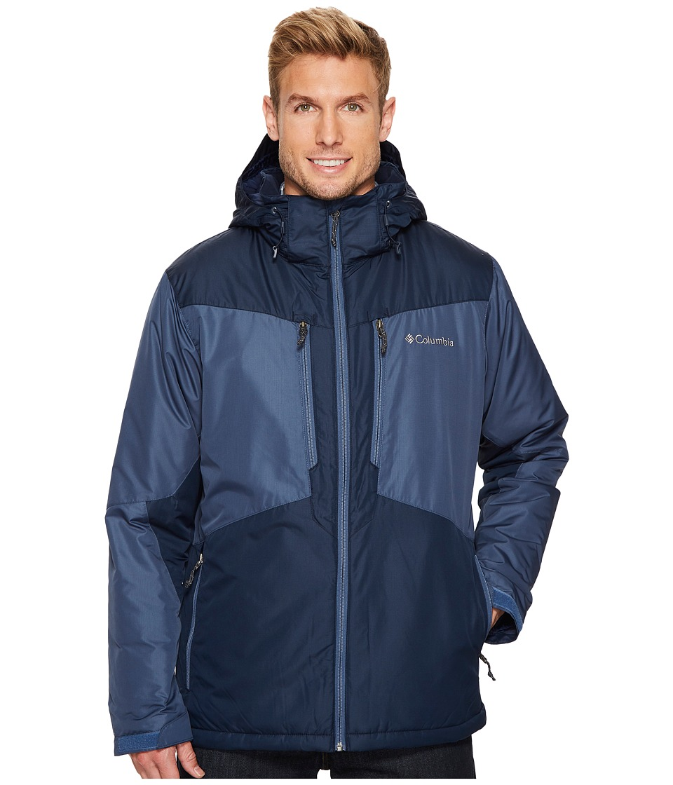 Columbia - Antimonytm Jacket (Dark Mountain/Collegiate Navy/Dark Mountain) Men's Coat