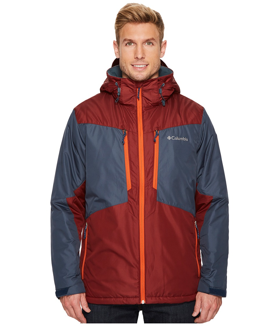 Columbia - Antimonytm Jacket (Mystery/Deep Rust/Hot Pepper) Men's Coat