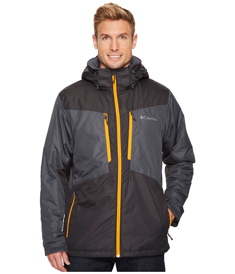 Columbia - Antimonytm Jacket (Graphite/Shark Solarize) Men's Coat