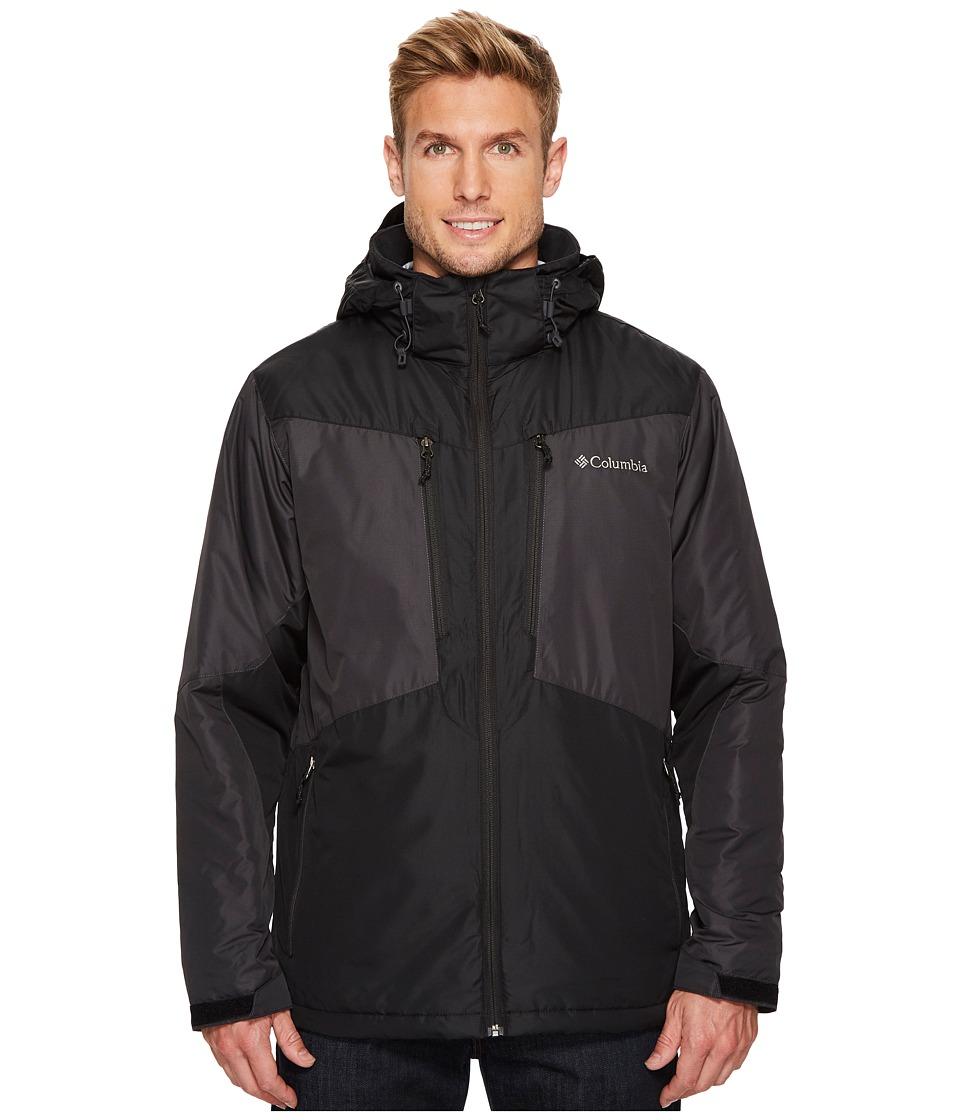 Columbia - Antimonytm Jacket (Black/Shark/Light Cloud) Men's Coat