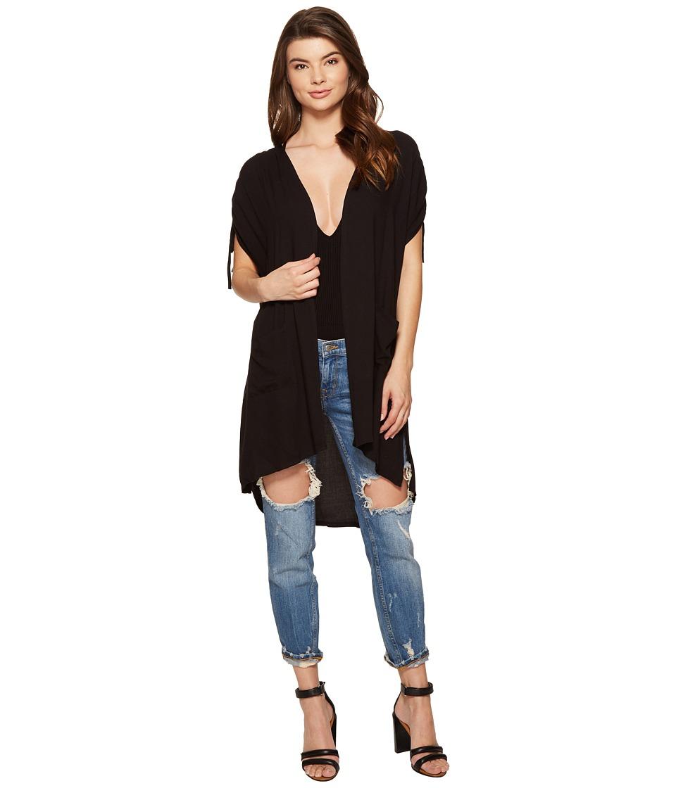 Jack by BB Dakota - Welch Rayon Crepe Vest (Black) Women's Vest