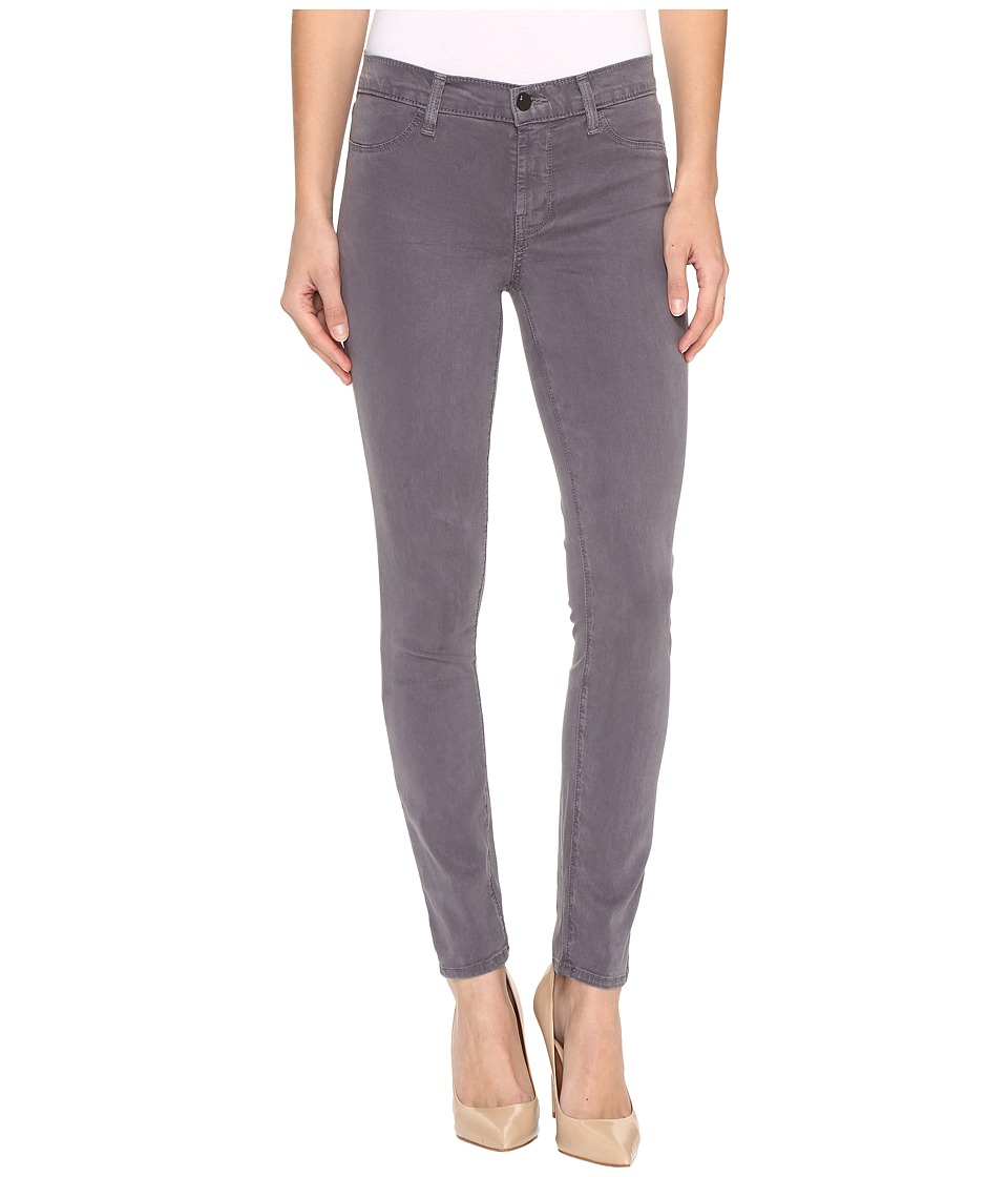J Brand - 485 Mid-Rise Super Skinny in Storm Grey (Storm Grey) Women's Jeans