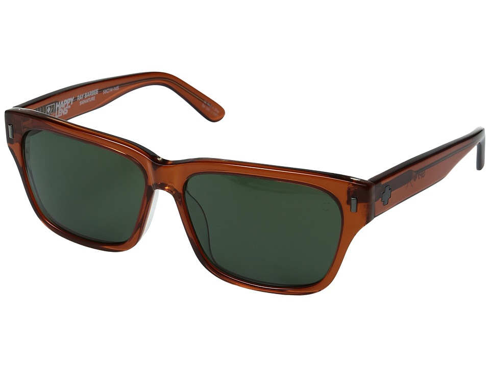 Spy Optic - Tele (Trans Sepia/Happy Gray Green) Sport Sunglasses