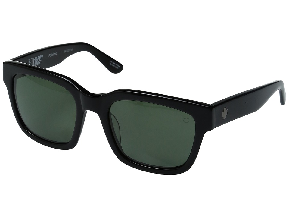 Spy Optic - Trancas (Black/Happy Gray Green Polar) Sport Sunglasses
