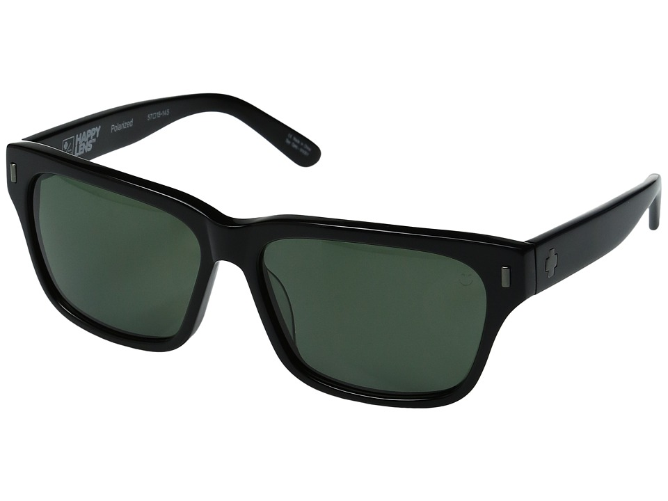 Spy Optic - Tele (Black/Happy Gray Green Polar) Sport Sunglasses