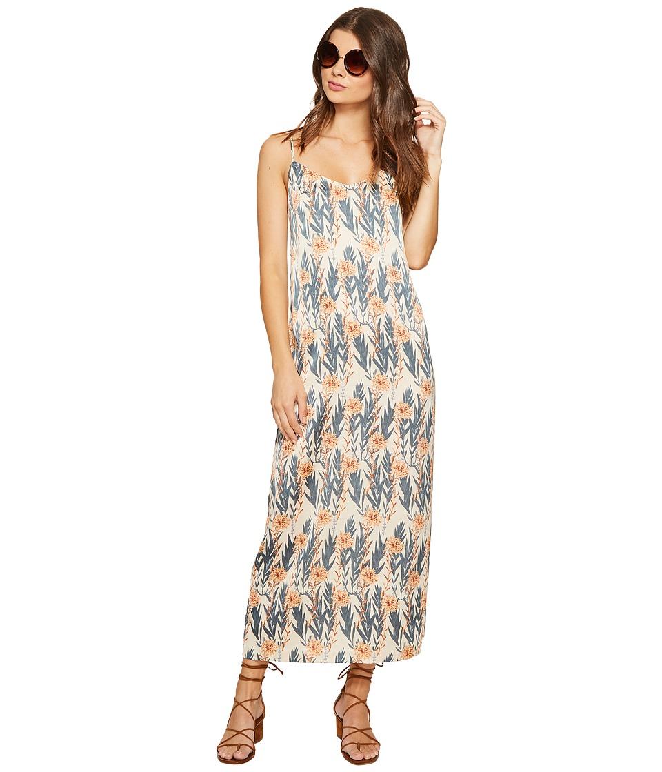 kensie Leafy Vines Silky Dress KS7U7134 (Rosy Nude Combo) Women
