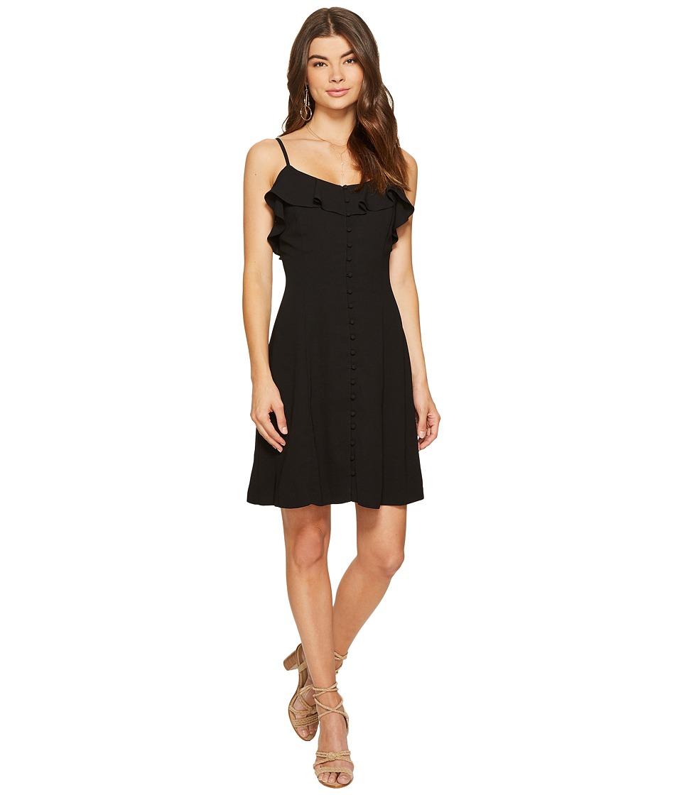 kensie Luxury Crepe Dress KS7K7972 (Black) Women