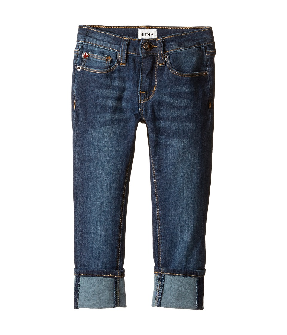Hudson Kids - Ginny Crop Super Stretch in Forget Me Not (Toddler/Little Kids) (Forget Me Not) Girl's Jeans