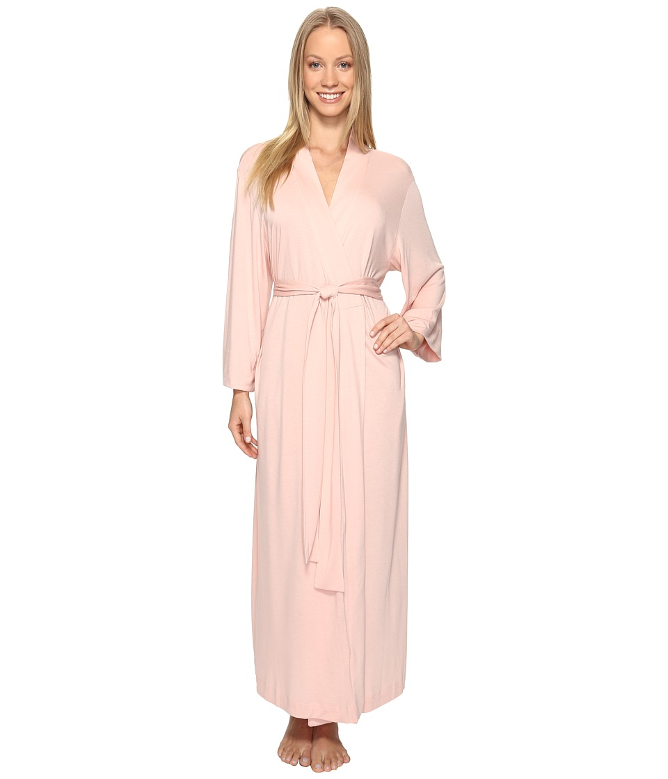 Natori - Shangri-La Robe (Dusty Deco Pink) Women's Robe