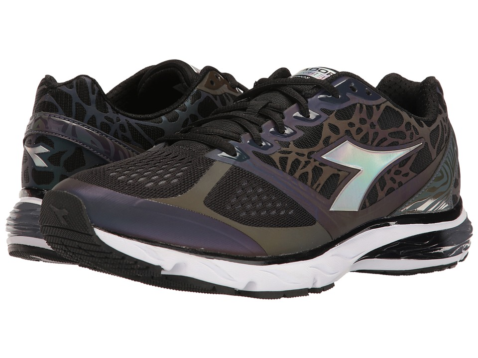 Diadora - Mythos Blushield Hip (Black/Black) Men's Shoes