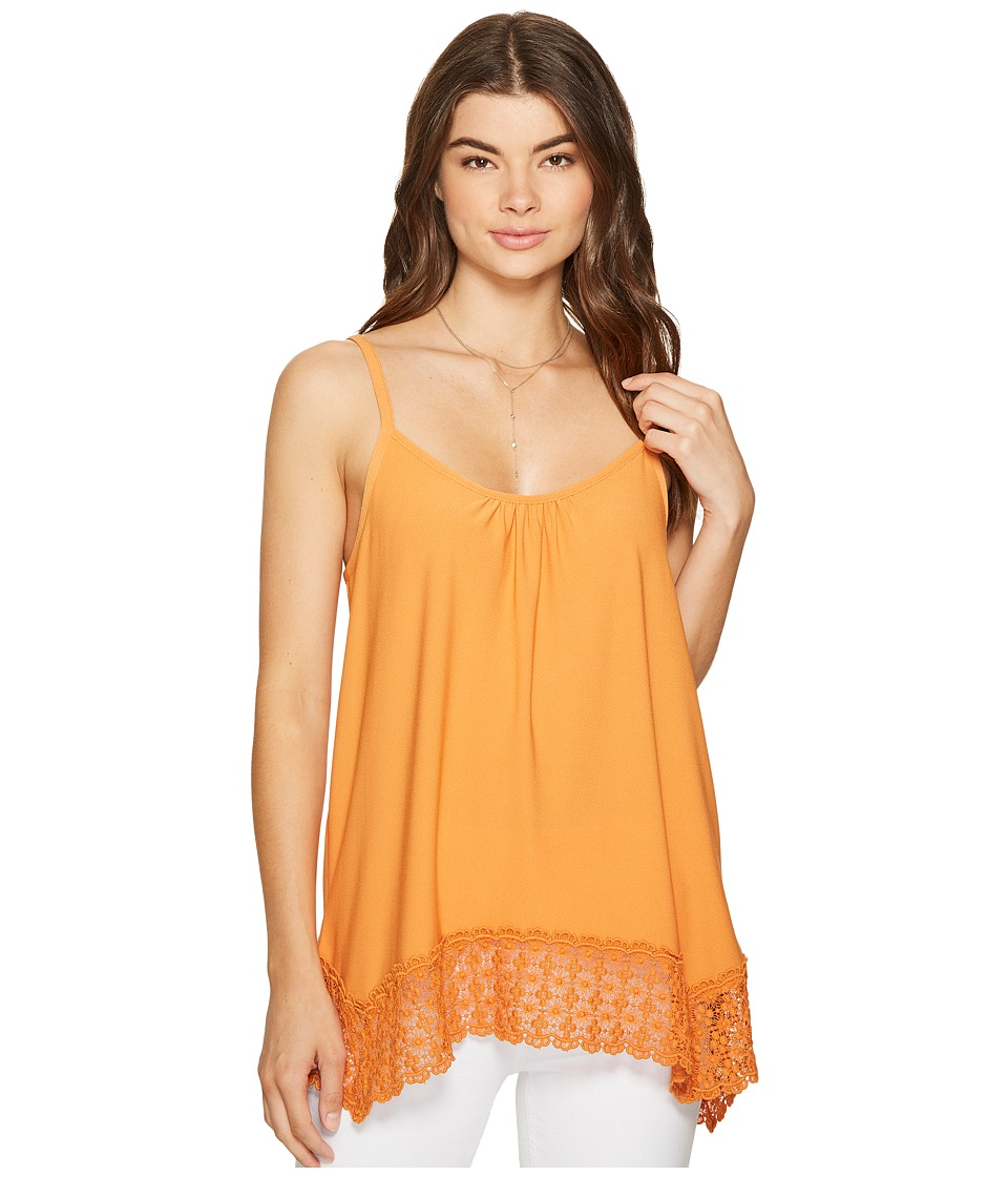 kensie - Slinky Knit Top KS7K307S (Burnt Orange) Women's Clothing