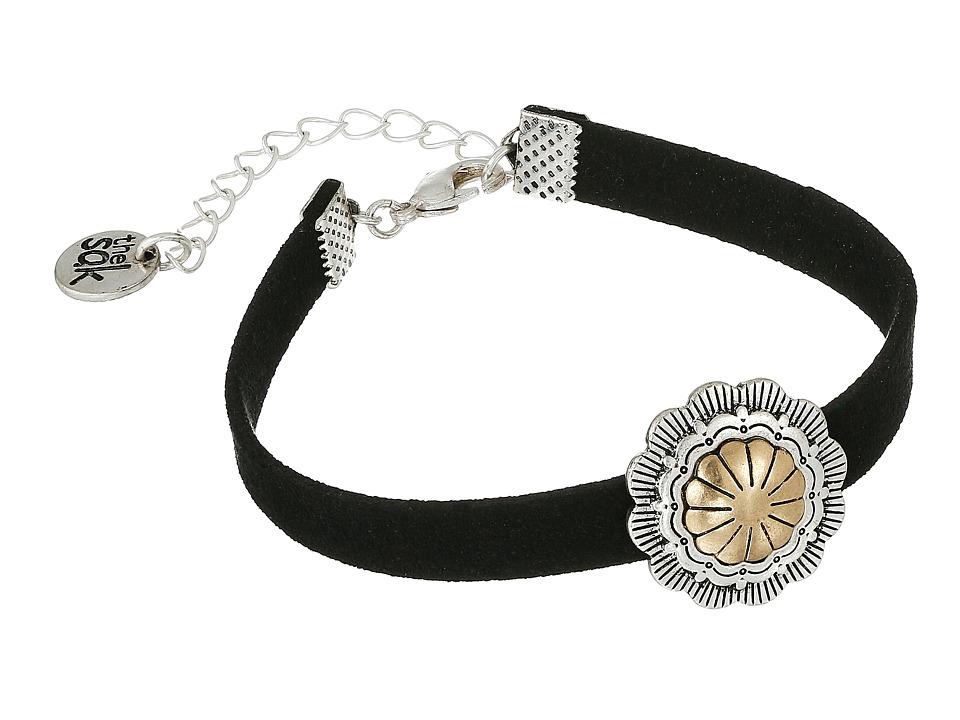 The Sak - Concho Wristlet Bracelet (Two-Tone) Bracelet