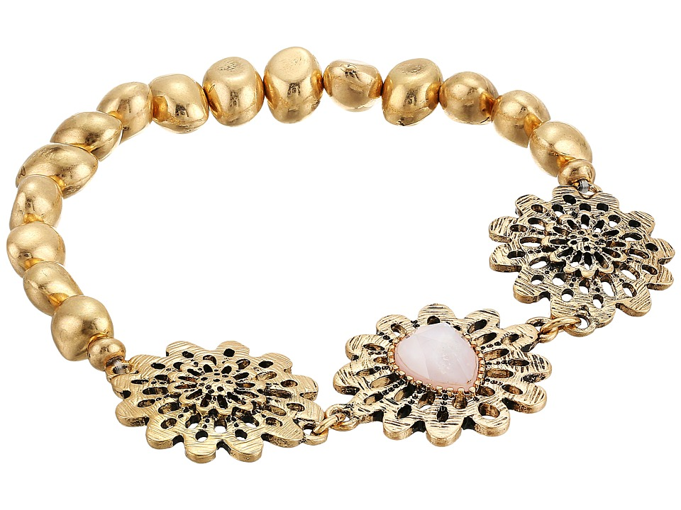 The Sak - Flower Stretch Bracelet (Pink) Bracelet