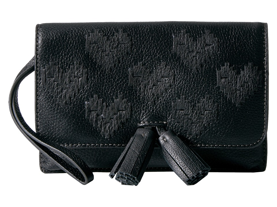 Fossil - Amelia Clutch (Black) Clutch Handbags
