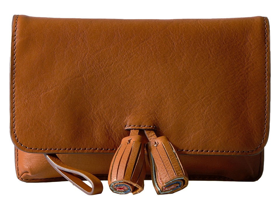 Fossil - Amelia Clutch (Tan) Clutch Handbags