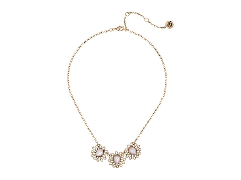 The Sak - Flower Collar Necklace 16 (Pink) Necklace