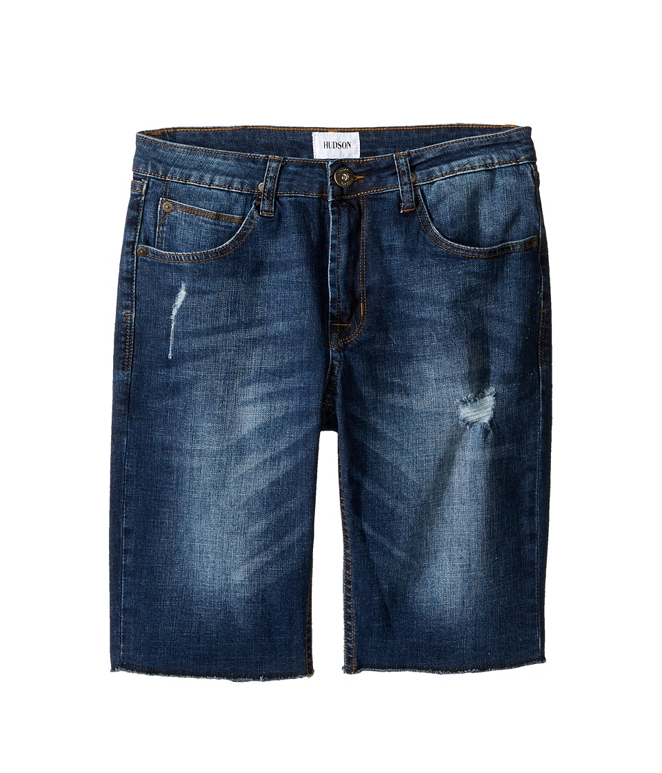 Hudson Kids - Hess Cut Off Slim Straight Shorts in Medium Stone Used (Big Kids) (Medium Stone Used) Boy's Shorts