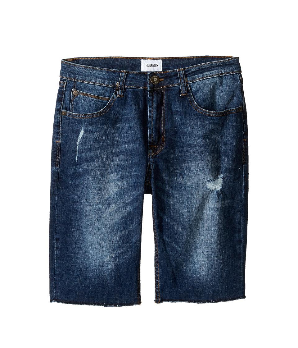 Hudson Kids - Hess Cut Off Slim Straight Shorts in Medium Stone Used (Big Kids) (Medium Stone Used) Boy's Shorts