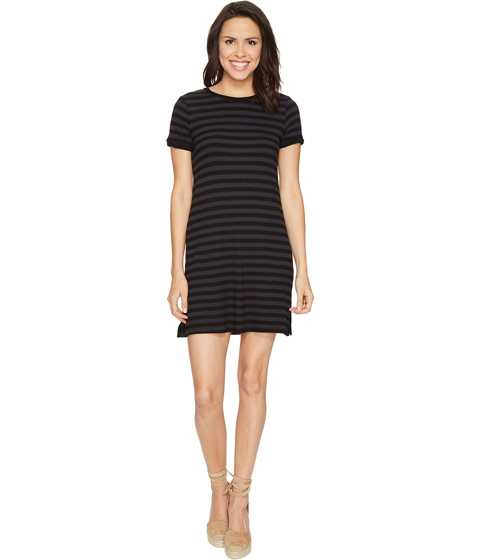 Michael Stars - Sophie Stripe Tee Dress (Oxide) Women's Dress