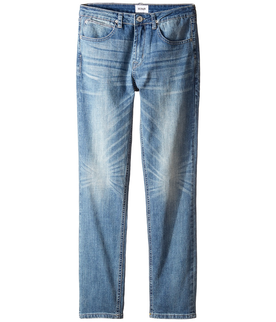 Hudson Kids - Jagger Slim Straight Five-Pocket in Plaster Wash (Big Kids) (Plaster Wash) Boy's Jeans