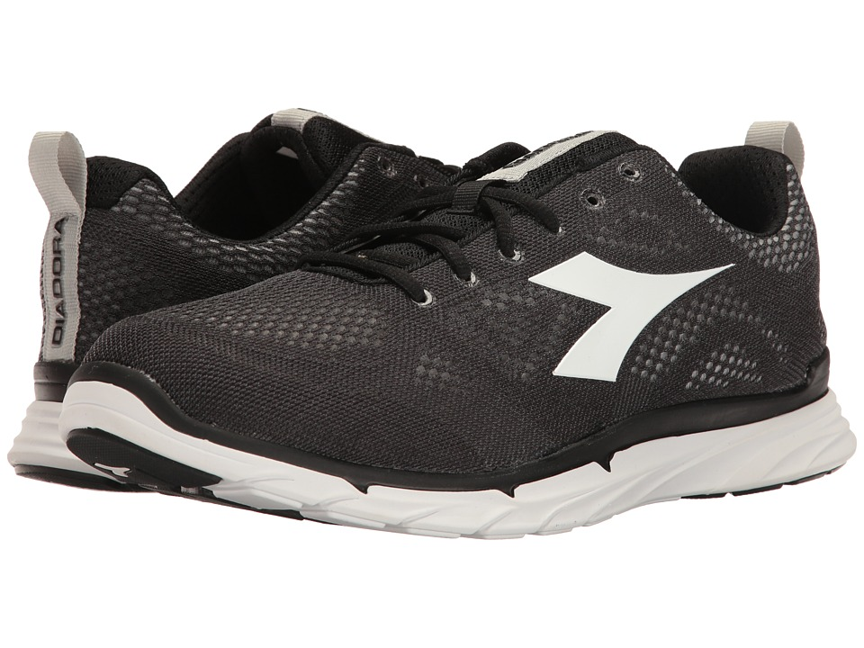 Diadora - Trama 2 (Black/Superwhite) Men's Shoes