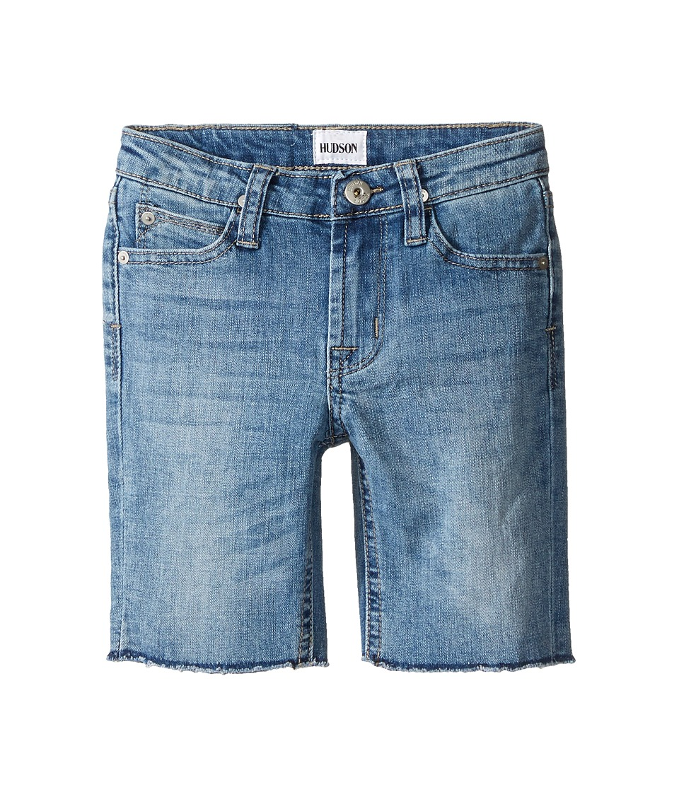 Hudson Kids - Hess Cut Off Slim Straight Shorts in Rhythm Blue (Toddler/Little Kids/Big Kids) (Rhythm Blue) Boy's Shorts