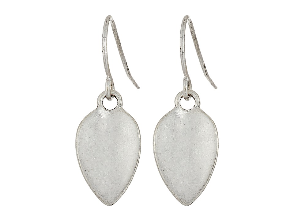 The Sak - Baby Petal Drop Earrings (Silver) Earring