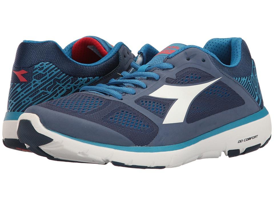 Diadora - X Run (Saltire Navy/Assuro Bambino/White) Men's Shoes
