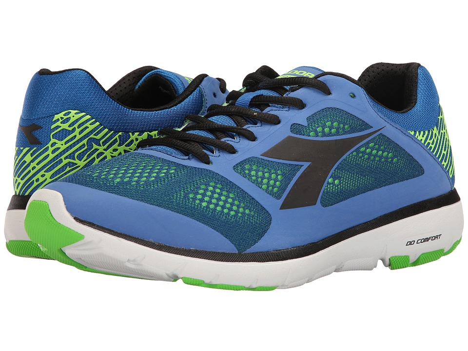 Diadora - X Run (Royal/Black) Men's Shoes