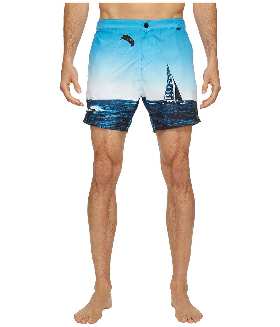 BOSS Hugo Boss - Blackfish 10135293 0 (Open Blue) Men's Swimwear
