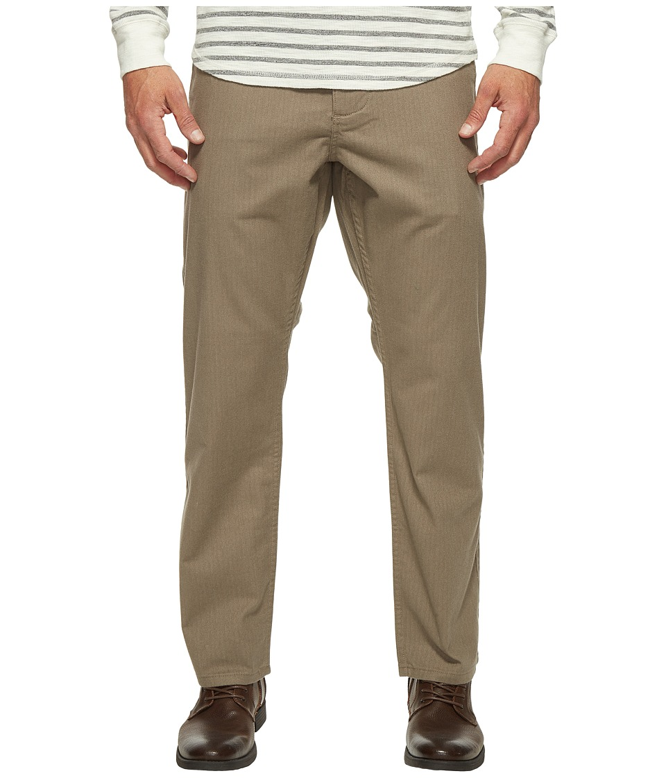 Dockers Premium - Alpha Slim Tapered Khaki (Light Brown Heather) Men's Casual Pants