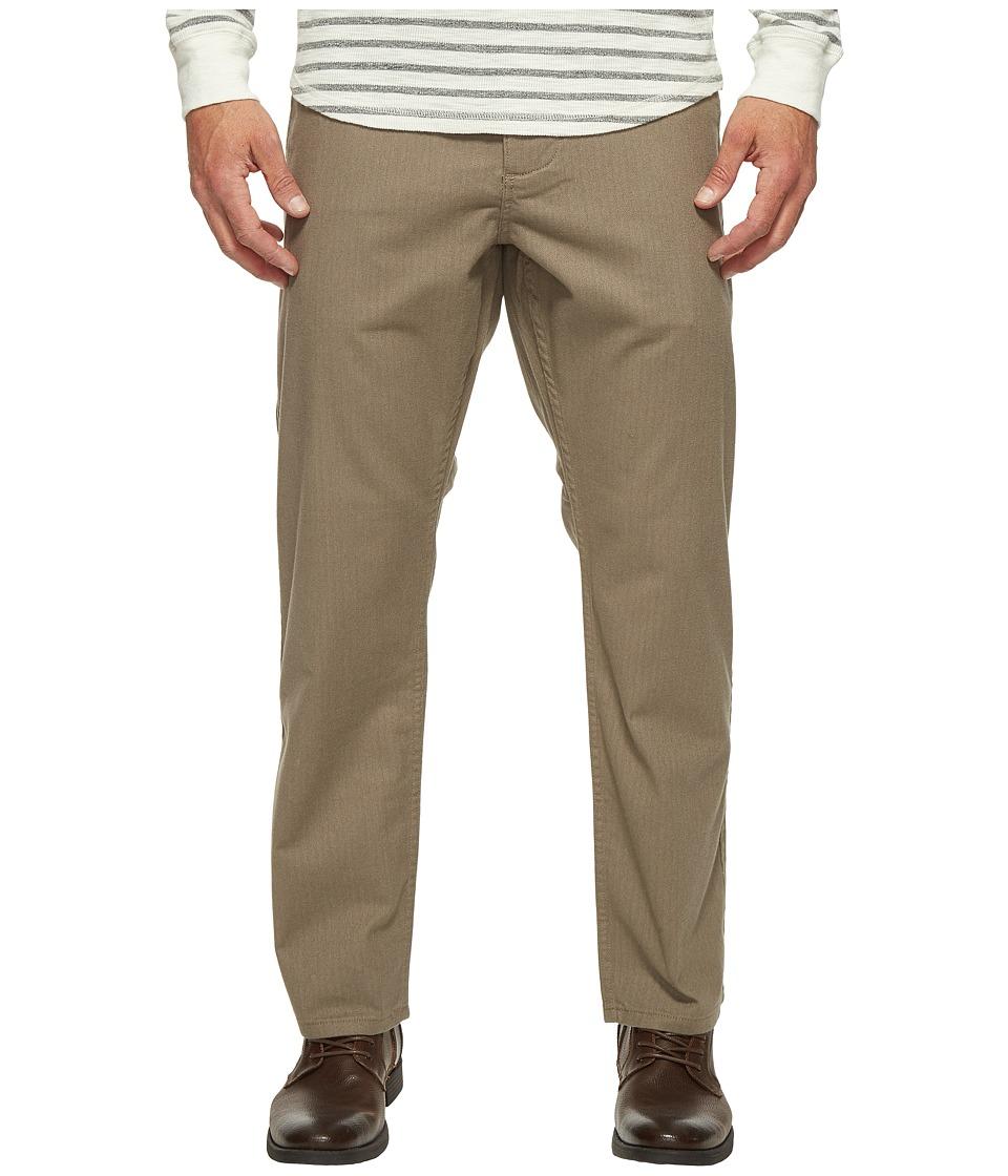 Dockers Premium - Alpha Slim Tapered Khaki (Light Brown Heather) Men's Casual Pants