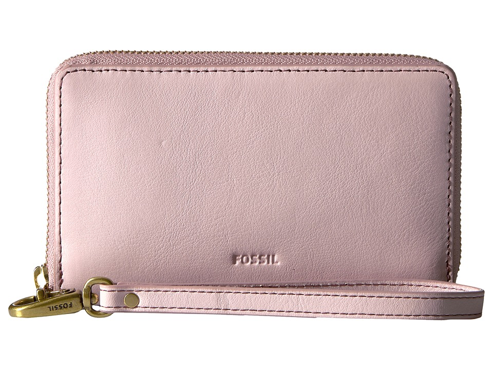 Fossil - Emma Smartphone Wristlet RFID (Powder Pink) Wristlet Handbags