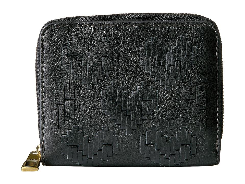 Fossil - Emma Mini Multi Wallet RFID (Black) Wallet Handbags