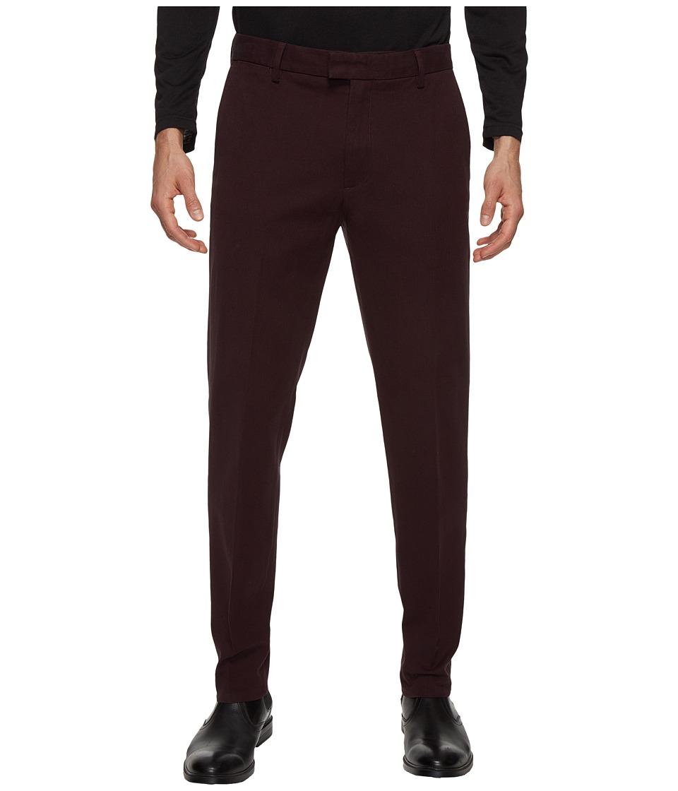 Dockers Premium - Insignia the Khaki Slim Tapered (Black/Cherry Heather) Men's Casual Pants