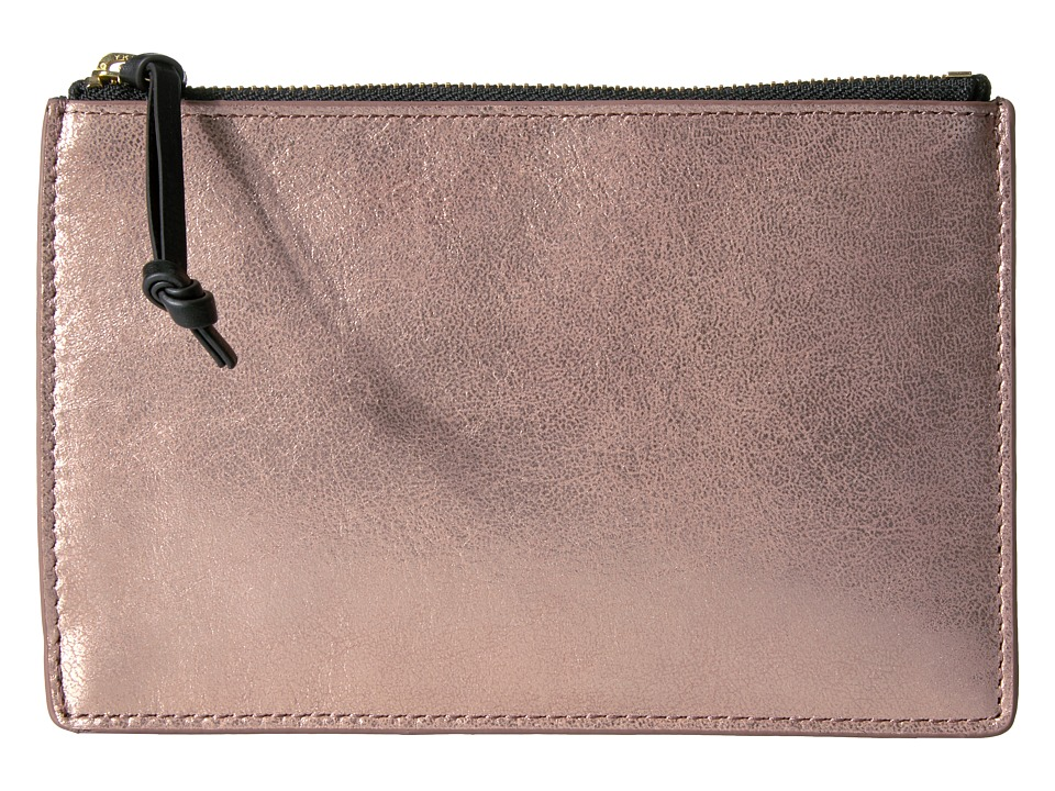 Fossil - RFID Small Pouch (Rose Gold) Travel Pouch