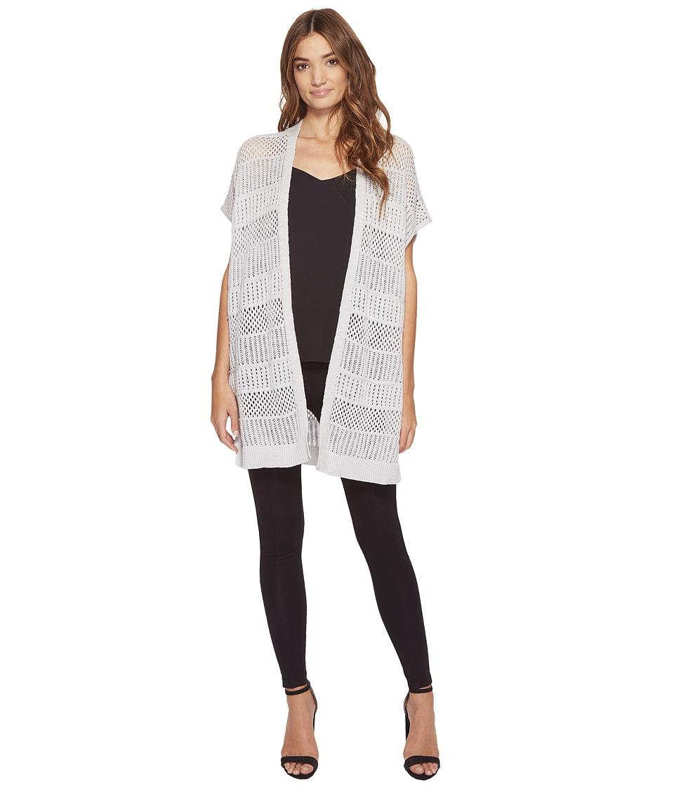 Michael Stars - Cotton Slub Short Sleeve Duster (Crescent) Women's Clothing