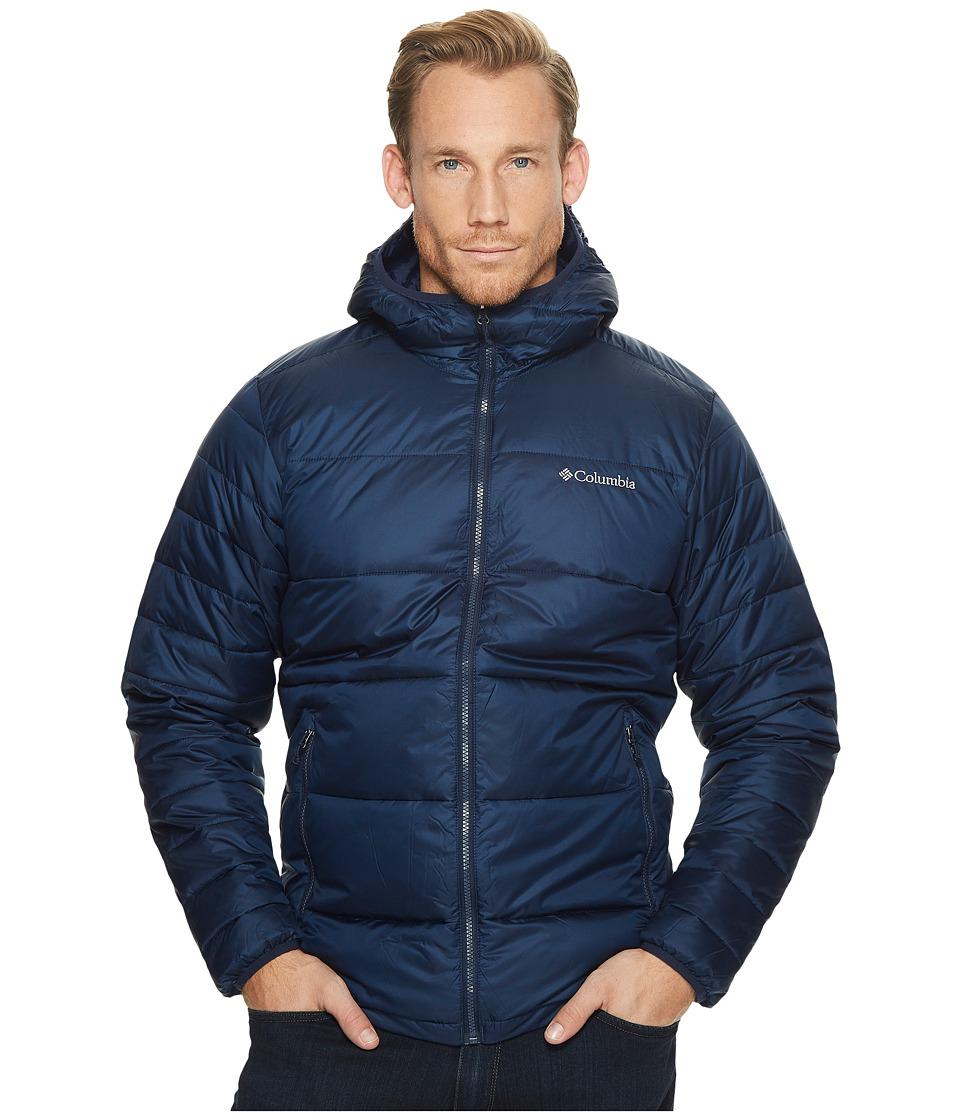 Columbia - Frost Fightertm Hooded Jacket (Collegiate Navy) Men's Coat