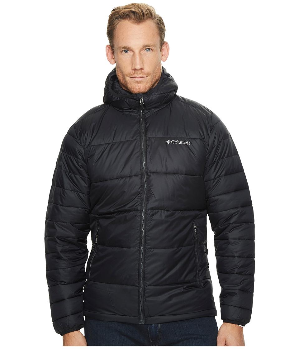 Columbia - Frost Fightertm Hooded Jacket (Black) Men's Coat
