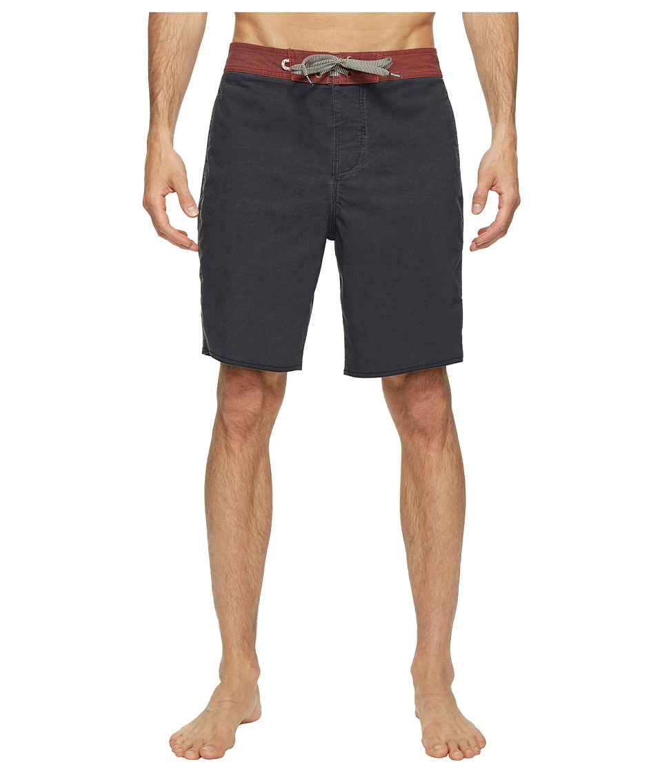 Roark - Well Worn Boardshorts (Black) Men's Swimwear