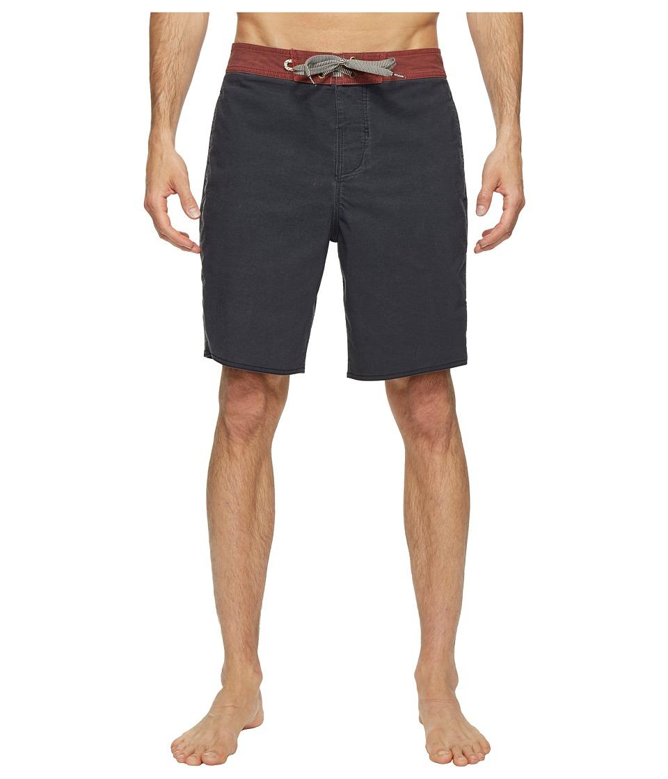 Roark - Well Worn Boardshorts (Black) Men's Swimwear